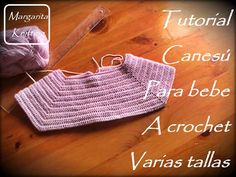 2Tutorial canesú para niñas a crochet varias tallas (diestro)