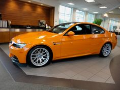 2013 Fire Orange BMW M3 Lime Rock Edition http://www.iseecars.com/used-car-finder#results
