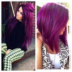 Vibrant violet! Loveee!