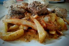 photo: Εύα Παρακεντάκη Food And Drink, Beef, Chicken, Cooking, Recipes, Yolo, Meat, Kitchen, Recipies
