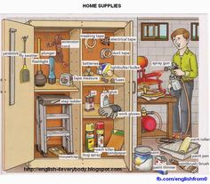 English For Beginners: Home Supplies