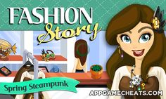 Fashion Story Spring Steampunk Cheats & Hack for Gems, Gifts, & Stars  #FashionStory #Simulation #SpringSteampunk #Strategy http://appgamecheats.com/fashion-story-spring-steampunk-cheats-hack/