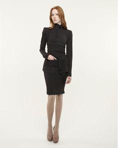Three pieces by Marie Saint Pierre: Vinava jacket, Motta corset + Gild skirt. Fall/Winter 2010.
