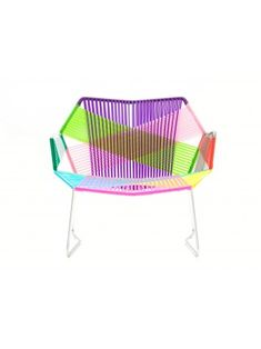 Armchair with armrest Moroso Tropicalia design Patricia Urquiola