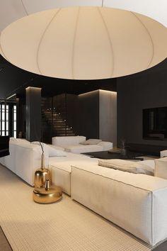 Home Room Design, Dream Home Design, Modern House Design, Interior Design Living Room, Room Interior, Dream House Interior, Dark Interiors, House Rooms, Interior Architecture