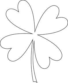Four Leaf Clover Tattoo Design 1