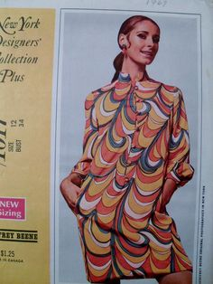 Vintage Pattern McCall's 1017 Geoffrey Beene Dress by LagunaLane
