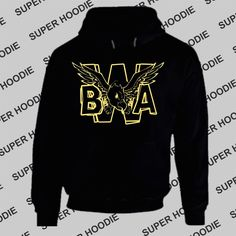 Hooded Pullover Kevin Gates BWA Bread Winners Association by Treedecase, $27.80 USD