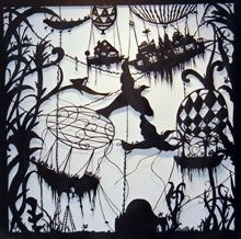 rafts by Beatrice Coron: paper cutting, more more more on her website Walker Art, Unusual Art, Paper Artist, Visionary Art, Paper Cutting, Cut Paper, Public Art, Creative Art, Cool Art