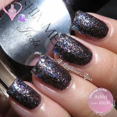 Shimmer Polish Astrid and Jacki Glitter Gradient - #shimmerpolish #glittergradient #nailswatch #nailpolish #polish #alaqueredaffair - bellashoot.com