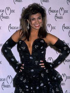 Celebrity Fashion Style 1980s Pics  Paula Abdul  1989