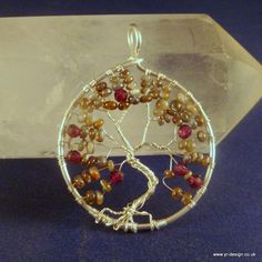 Tree of Life Pendant - A Wire Wrap Tutorial
