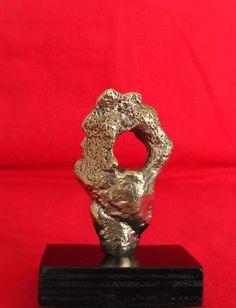 "Bronze ""Fragment in Style of a Portrait"" Decorative Sculpture Fine Art, $450.00, www.springgallerymaine.com, www.modernartfoundry.com"