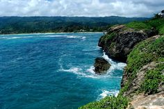 Laie point, Oahu.  From the cliff jump scene in Forgetting Sarah Marshall.  Must-do!!