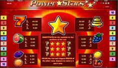 Play for fun Power Stars Slot Machine