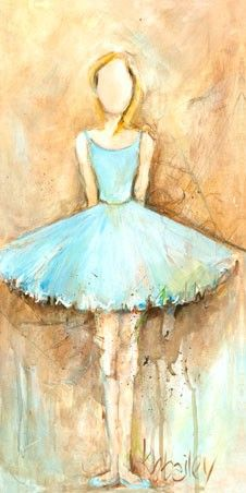 GreenBox Art 'Chin Up Shoulders Back' by Kristina Bass Bailey Painting Print on Wrapped Canvas Ballerina Art, Ballerina Nursery, Girl Nursery, Girl Room, Pastel, Baby Wall Art, Art Et Illustration, Beautiful Paintings, Painting Inspiration