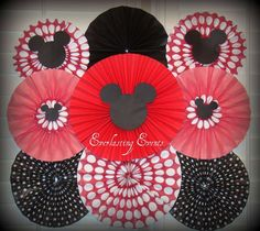 Mickey Mouse / Minnie Mouse Birthday Party Ideas   Photo 1 of 6   Catch My Party