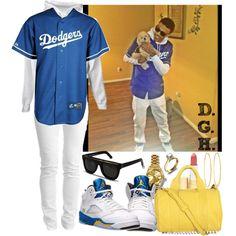 L.A. Dodgers x Air Jordan 5 Laney's.