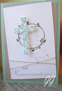 Kreativzeiten mit STAMPIN´ UP!: Kommunion