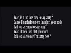 justin bieber sorry lyrics pics - Google keresés