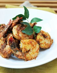 Piri Piri Shrimp - A spice-laden shrimp appetizer from the spiciest chef in NYC. Perfect as a pre-dinner bite, this dish could make the standard shrimp cocktail jealous. Chef Recipes, Cooking Recipes, Healthy Recipes, Dinner Recipes, Indian Food Recipes, Asian Recipes, Tasting Table, Just Cooking, Shrimp Recipes
