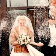 Snowfetti Winter Wedding Snow Confetti