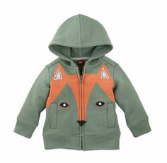 Tea Collection Der Fuchs Zip Hoodie