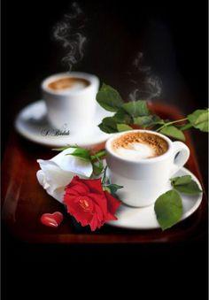 Coffee for two Coffee Snobs, Coffee Cafe, Coffee Humor, Coffee Drinks, Good Morning Coffee, Coffee Break, Bon Mardi, Coffee Heart, Coffee Pictures