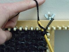 WEAVING VHS TAPES HOW TO CREATE A WEAVE BOARD