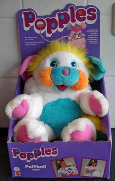 Popples - I had this very one. Probably still do!