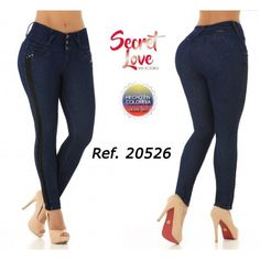 20526PAP-N BUTT LIFTING JEANS