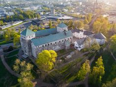 Aerial of Turku castle in the middle of fresh green park in Turku - Jarmo Piironen (@JamoImages) | Twitter