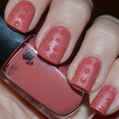 Rose Matte / Shiny Dotticure by Jelena S