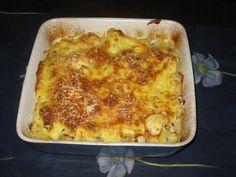 Gratin+de+chou-fleur+sur+lit+de+viande+hachée