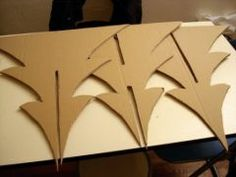 Tutorial: How to make a Christmas tree cardboard