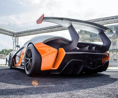 Mclaren P1 GTR Cool Sports Cars, Super Sport Cars, Cool Cars, Super Cars, Cool Car Pictures, Car Pics, Car Racer, Futuristic Cars, Futuristic Vehicles