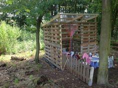 Pallets Hut for kids / Cabane pour les enfants | 1001 Pallets