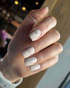 30 White Nail Designs Bridal Ideas Full Of Style ❤ white nail designs minimalistic stripes 1masternails #weddingforward #wedding #bride #whitenaildesigns #bridalnails White Nail Designs, Simple Nail Designs, White Manicure, White Nails, Bridal Nails, Wedding Nails, Wedding Looks, Perfect Wedding, Sophisticated Nails