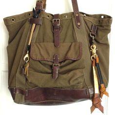 Den & Delve Shop Leather Accessories (bag by Ralph Lauren)