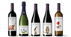 Illustrations for Wine Labels   CODORNÍU S.A. by Eunike Nugroho, via Behance