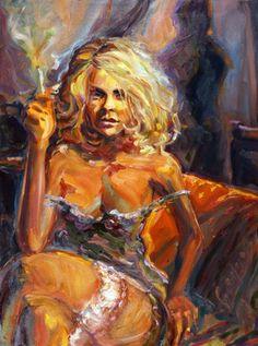 "Saatchi Online Artist Alexandr Mukhomedeev-Boyarov; Painting, ""Empty"" #art"