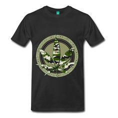 cool camouflage cannabis design
