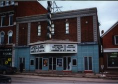 historic O'Brien Theatre in downtown Renfrew, Ontario (built in1929)