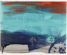 Howard Hodgkin 1932-2017 ACQUAINTED WITH THE NIGHT Hand-painted aquatint printed in colours, 2012, initialled in pencil, dated, numbered 13/15, on wove paper