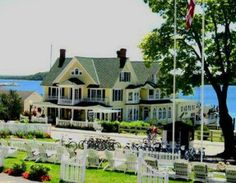 Bay View Inn, Come back to yesterday, where grace, charm, and romantic turn-of-the-century traditions are complimented by the modern conveniences of today. Built over a century ago in 1891, Bay View on Mackinac Island still celebrates her original family heritage in the Grand Victorian style that is truly Mackinac. Beautifully positioned on the bay, it is the only B of her type and style resting on the water's edge. Each guest room will embrace you with its own unique seascape.