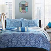 bed bath blue purple quilts & bedspreads