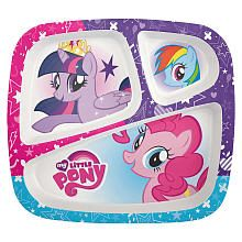 My Little Pony 3 Section Plate