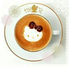 乙女心くすぐるかわいいキティちゃんのコーヒーで目を覚まして、今日も一日頑張ろう♡  かわいすぎて飲むのがもったいないね!   It's time to wake yourself up with a cute Hello Kitty coffee ♡  It's too cute to drink!   Photo taken on Kawaii★Cam    Join Kawaii★Cam now :)   For iOS:   https://www.kwcam.co   For Android :   https://play.google.com/store/apps/details?id=jp.co.aitia.whatifcamera    Follow me on Twitter :)   https://twitter.com/WhatIfCamera    Follow me on Pinterest :)   https://pinterest.com/kawaiicam/    #kawaiicam#hk #hellokitty…