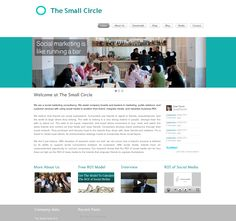 The #Website and #Branding design we at www.boostingyourbrand.com made for our client The Small Circle ➠  www.thesmallcircle.com A full website including A full website including News Feed, full social integration, media video page, Blog and much more! If you are in the market for a new website or want to discuss a redesign please contact Jakolien Sok @ jakolien@boostingyourbrand.com