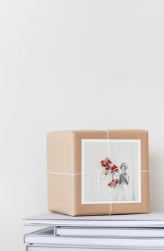 simple gift wrap + photographs